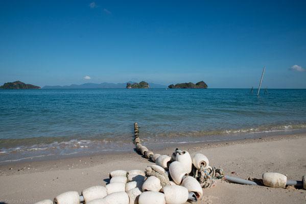 Pulau Langkawi liegt im nördlichen Bereich der Straße von Malakka, wo diese sich zur Andamanensee öffnet.