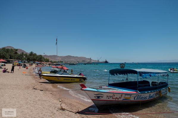 Akaba - am Roten Meer.