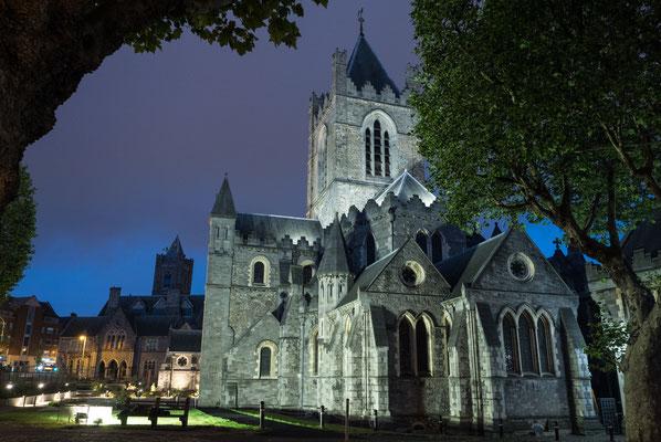 Christ Church Cathedral, die ältere der beiden mittelalterlichen Kathedralen.