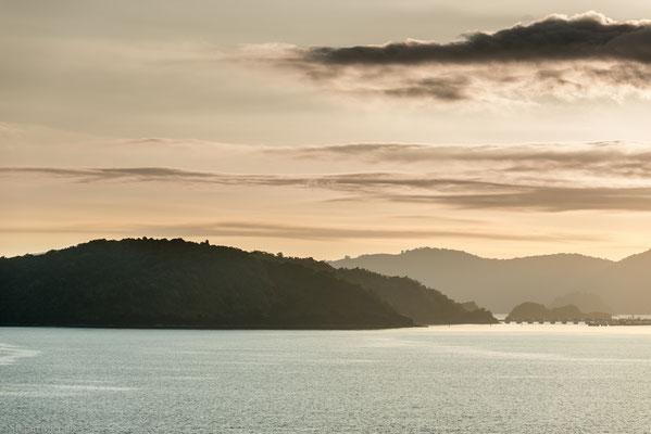 Sonnenaufgang vor Langkawi.