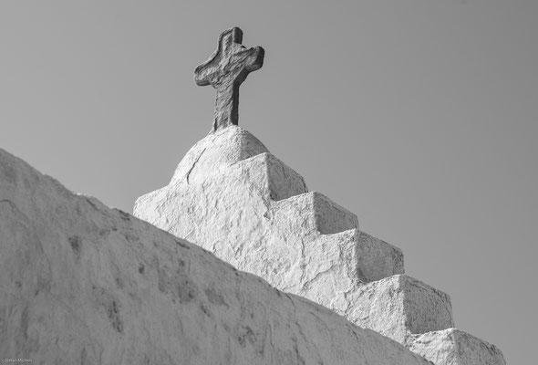 Die Panagia-Paraportiani Kirche.