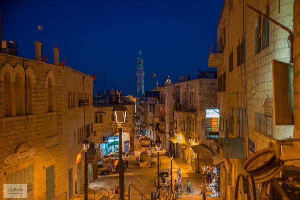 Abends unterwegs in Bethlehem.
