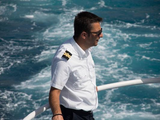 Auf dem Weg nach Santorini.