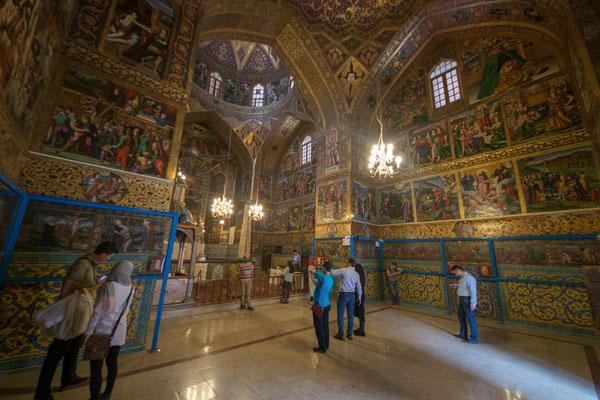 In der Vank-Kathedrale im Armenischen Viertel, das christliche Gotteshaus wurde 1605-1655 erbaut.