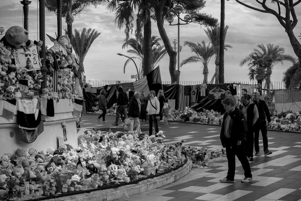 Im Gedenken an die Opfer vom 14.Juli 2016.