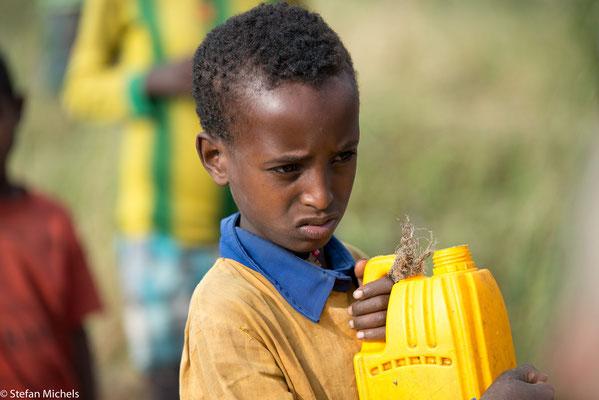 """""""gefühlt"""" sind 70 % der äthiopischen Kinder Analphabeten."""
