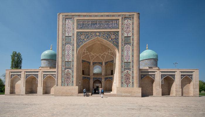 Unsere erste Medrese (theologische Hochschule) in der Altstadt von Tachkent, die Barak-Khan, zunächst als Mausoleum geplant
