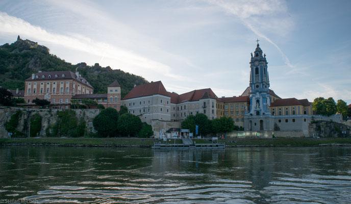 Typische Ortschaften an der Donau.