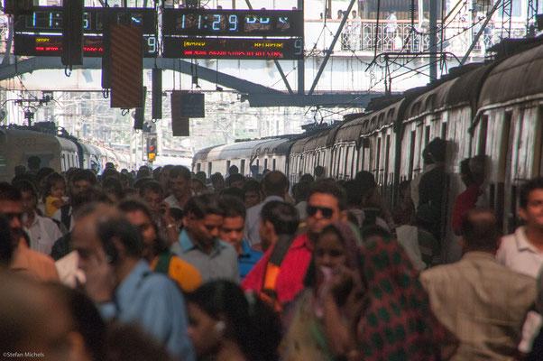 Bombay, am Hauptbahnhof