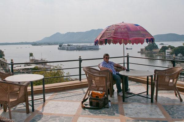 Pause über dem Pichola-See