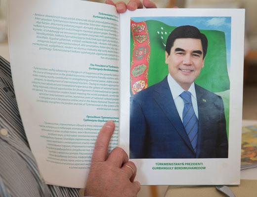 Weiter ging es nach Turkmenisthan.