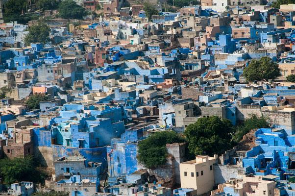 """Die """"blaue Stadt"""""""