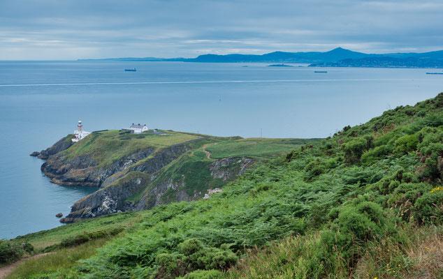 Auf der Halbinsel Howth, vor Dublin gelegen.
