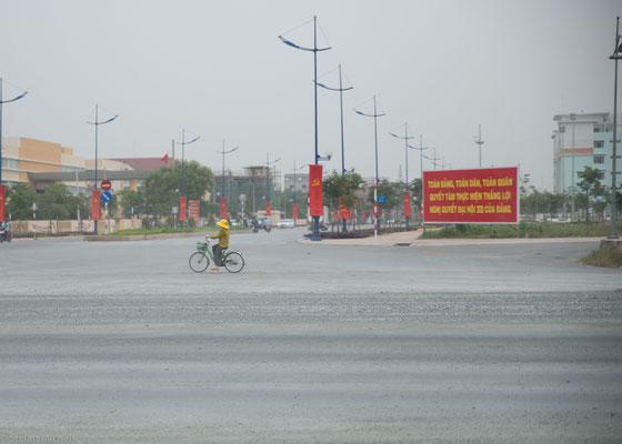 Vietnam grenzt an China, Laos, Kambodscha, den Golf von Thailand und das Südchinesische Meer.