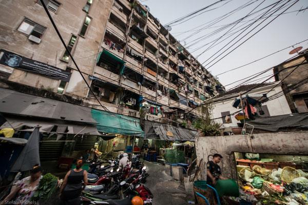 Bangkok bildete ursprünglich nur ein kleines Fischerdorf am östlichen Ufer des Chao Phraya.