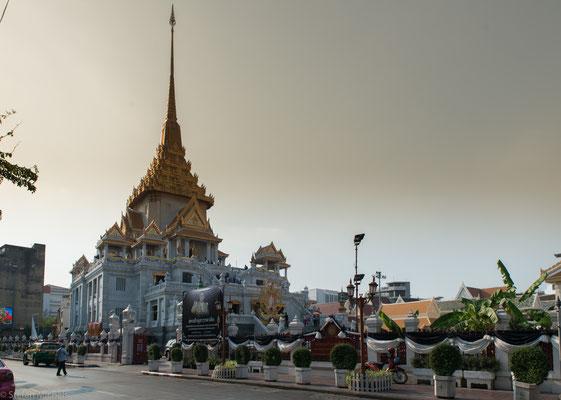Der goldene Buddha in Bangkok.