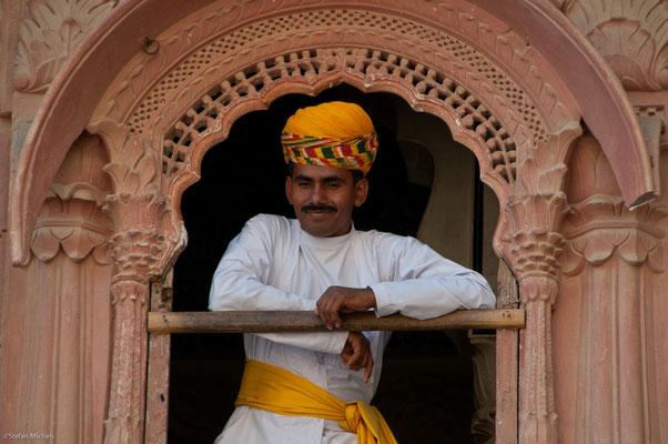 Im Fort, noch heute im Besitz der Nachfahren des Maharjas Jaswant Singh
