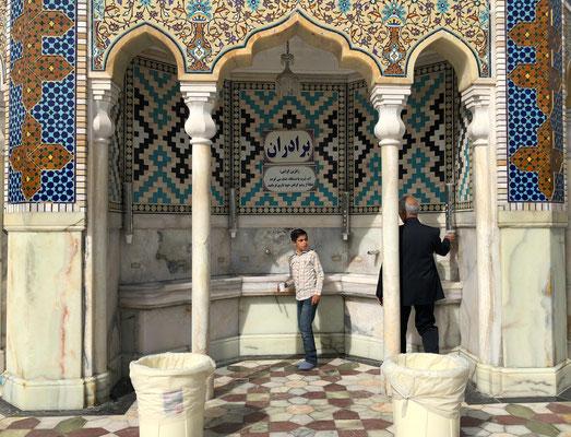 Die Stadt gilt als eine der sieben heiligen Stätten des schiitischen Islams.
