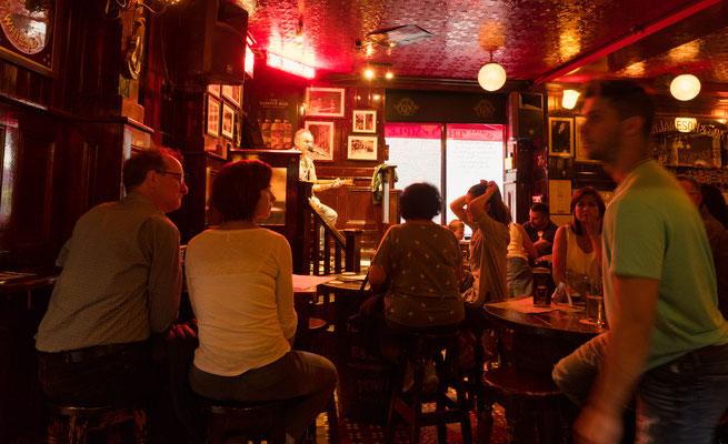 In jedem Pub gibt es Live-Musik!