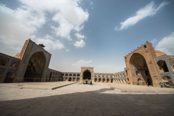 Freitagsmoschee in Isfahan.