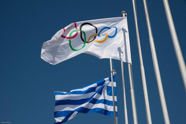 Das Panathinaiko-Stadion  ist das Olympiastadion der ersten Olympischen Spiele der Neuzeit im Jahre 1896.