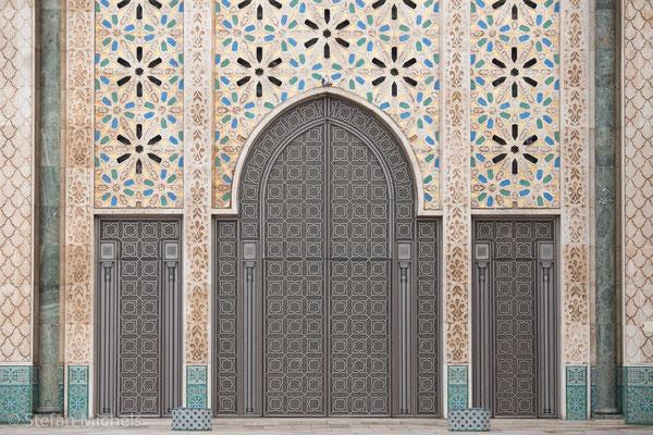 Hassan II - Moschee - 25.000 Menschen finden Platz.