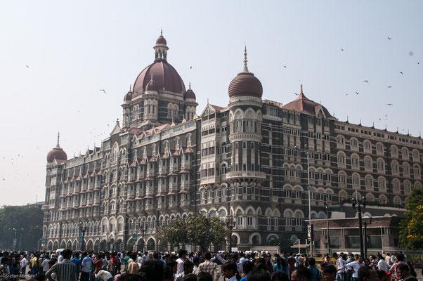 das berühmte Tan Mahl-Hotel, Bombay