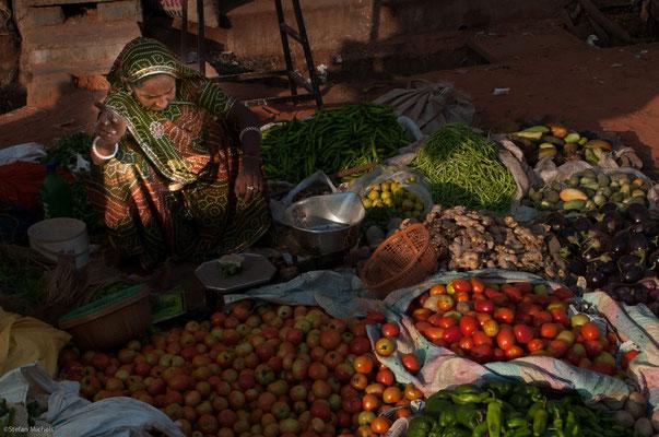 Gemüsehändlerin Jaipur