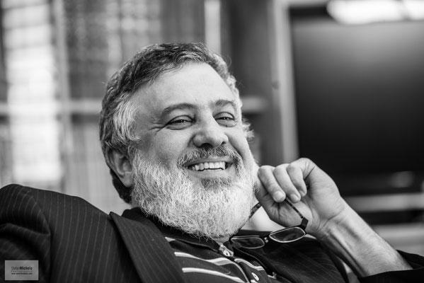Wir hatten ein Gespräch mit dem Oberhaupt der Ahmadiyya in Haifa, Muhammed Sharif Odeh.