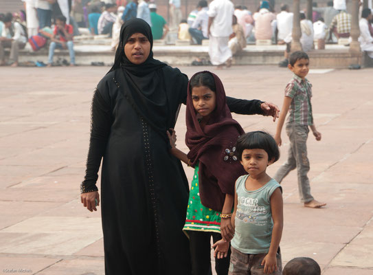 In der Jama Masjid, 20.000 Gläubige haben Platz