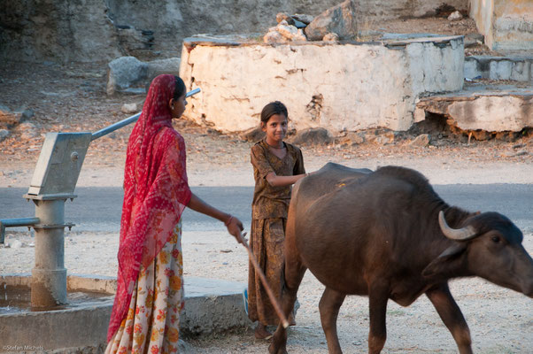 Kinder vor Udaipur
