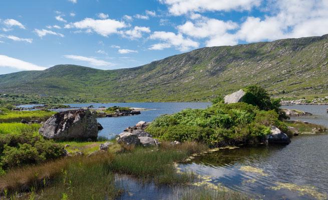Der Wild Atlantic Way ist eine Küstenstraße, die sich auf einer Länge von über 2500 km entlang der Westküste Irlands erstreckt.