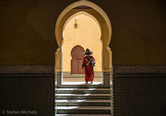 Meknes - Die Stadt teilt sich in zwei Hälften, die Medina im Westen und die unter französischer Herrschaft entstandene Ville nouvelle im Osten.