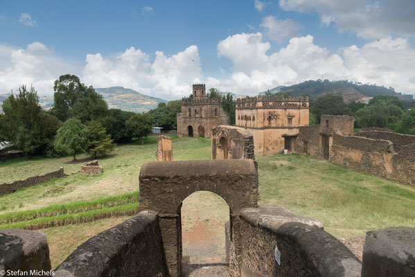 Gondar - Festungsanlage Fasia Ghebbi.