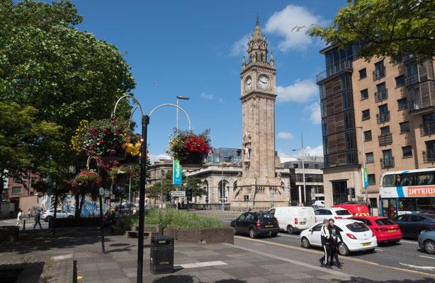 Belfast, leider keine schöne Stadt.