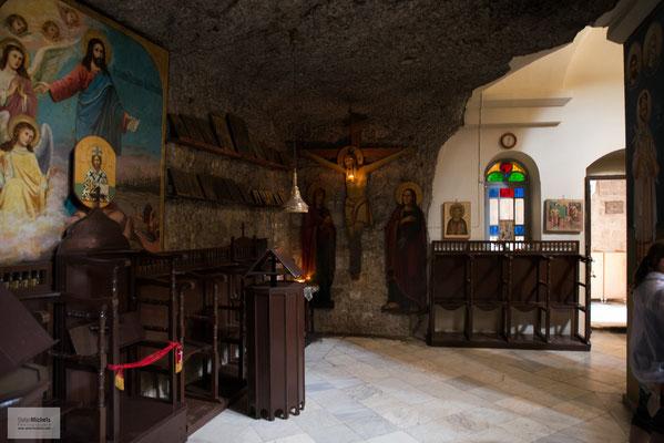 Auf dem Berg der Versuchung, ein griechisch-orthodoxes Kloster.