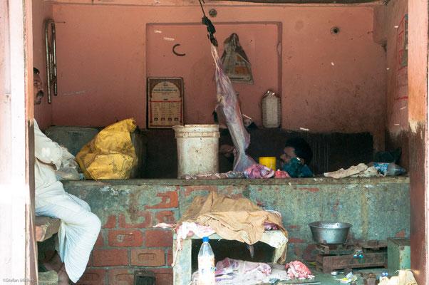 Jaipur, Metzgerei