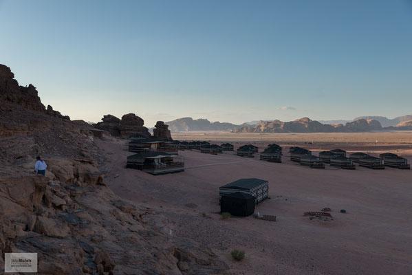 Das Wadi Rum (auch Wadi Ram) ist das größte Wadi in Jordanien.