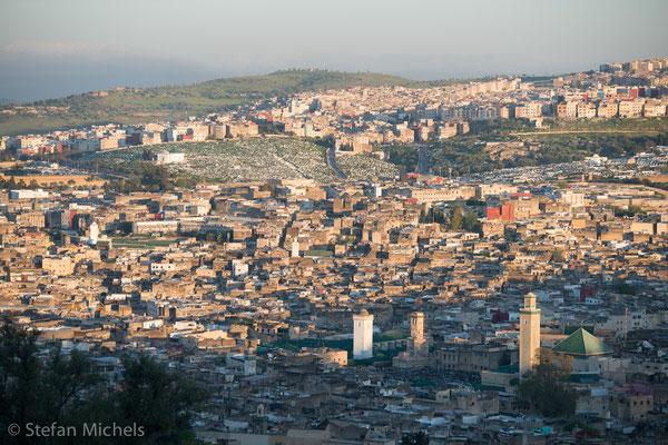 Fès - Ist mit rund einer Million Einwohnern die drittgrößte Stadt Marokkos.
