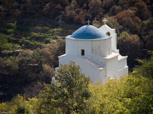 Auf Naxos gibt es mehr als 150 frühchristliche und byzantinische Kirchen.