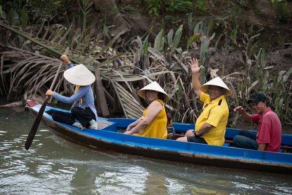 Das Deltagebiet des Mekong wurde im 18. und 19. Jahrhundert nur schwach besiedelt, da großflächige Seuchen herrschten.