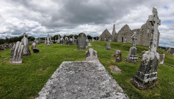 Zu seiner Blütezeit war es ein wichtiges geistliches und handwerkliches Zentrum Irlands.