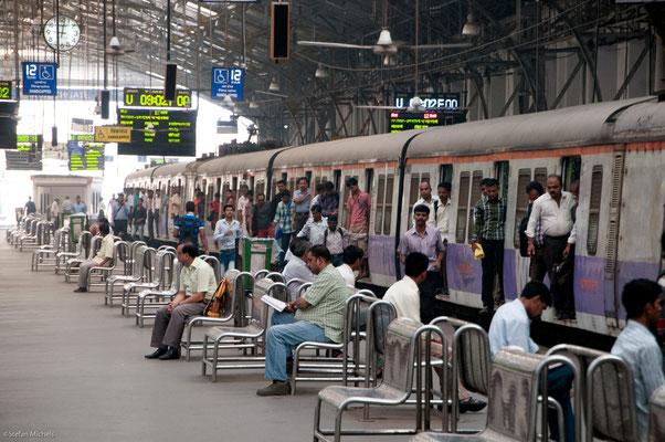 Auf dem Weg nach Dharavi