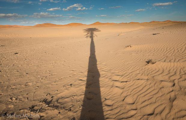 Sahara -Der einzige Fluss, der die Sahara quert, ist der Nil.