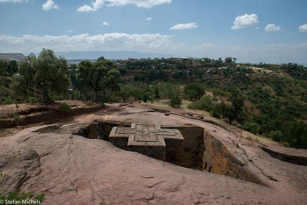 Lalibela -nach dem der Ort benannt wurde, war der Name des wichtigsten Kaisers aus der Zagwe-Dynastie.