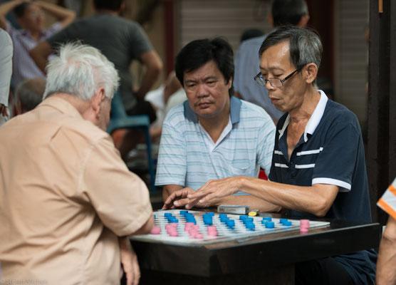 Das beliebte Go- Brettspiel.