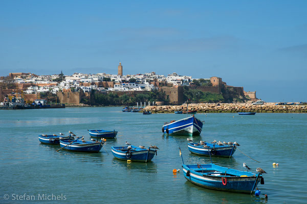 Rabat- Altstadt und Kasbah am Bou-Reg-Reg.