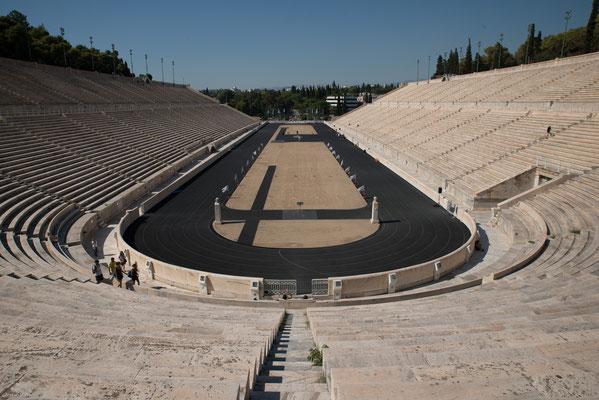 Als 2004 die Olympischen Sommerspiele wieder in Athen abgehalten wurden, fanden hier die Wettkämpfe im Bogenschießen  statt. Außerdem befand sich hier das Ziel der beiden Marathonläufe.