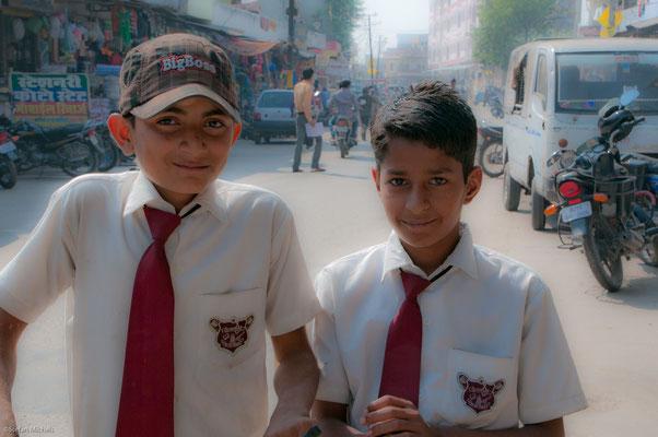 Schüler in Jaipur