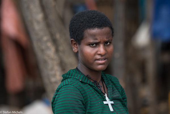 45 % der Bevölkerung sind äthiopisch -orthodox .